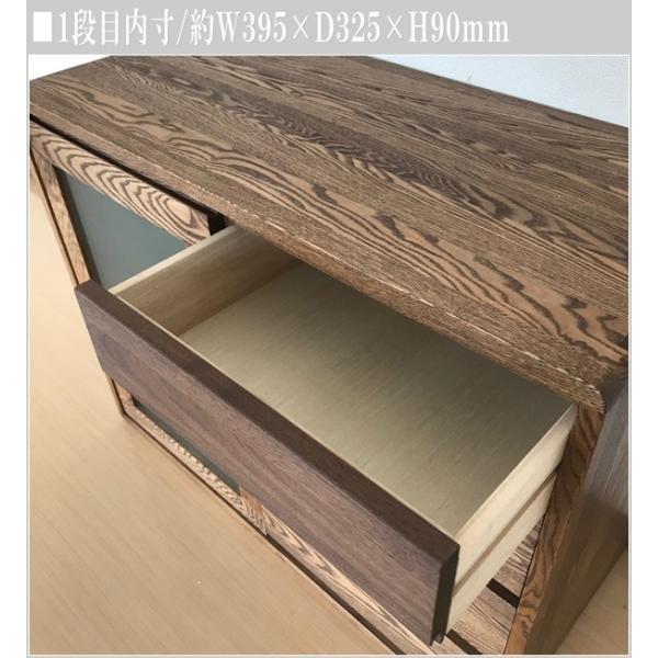 サイドボード ウォールナット リビングボード 北欧 キャビネット 木製 無垢|interior-bagus|11