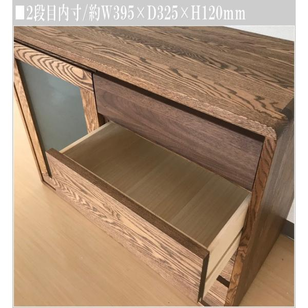 サイドボード ウォールナット リビングボード 北欧 キャビネット 木製 無垢|interior-bagus|12
