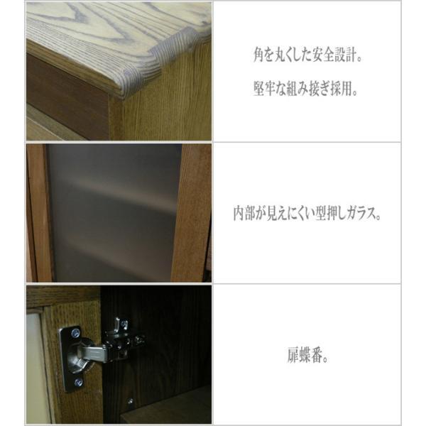 サイドボード ウォールナット リビングボード 北欧 キャビネット 木製 無垢|interior-bagus|05