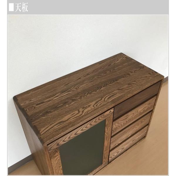 サイドボード ウォールナット リビングボード 北欧 キャビネット 木製 無垢|interior-bagus|06