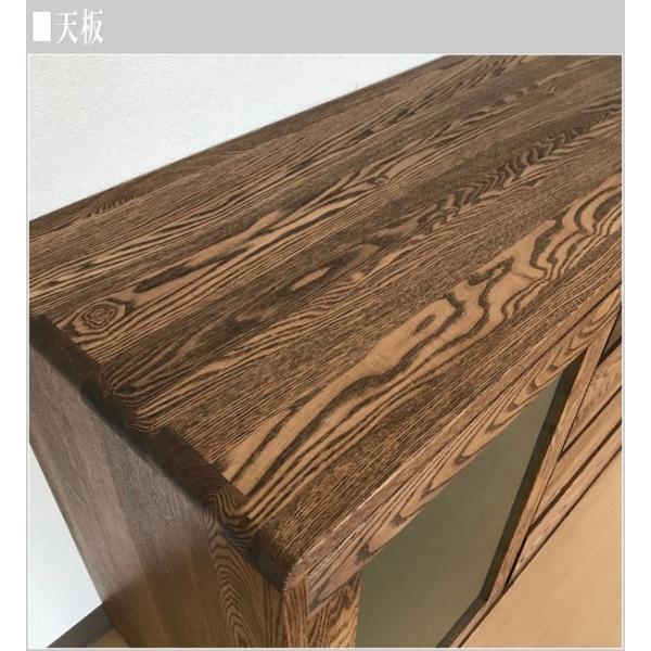 サイドボード ウォールナット リビングボード 北欧 キャビネット 木製 無垢|interior-bagus|07