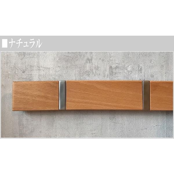 ウォールハンガー 5連 壁掛けハンガーフック コートハンガー 壁掛けフック 木製|interior-bagus|04