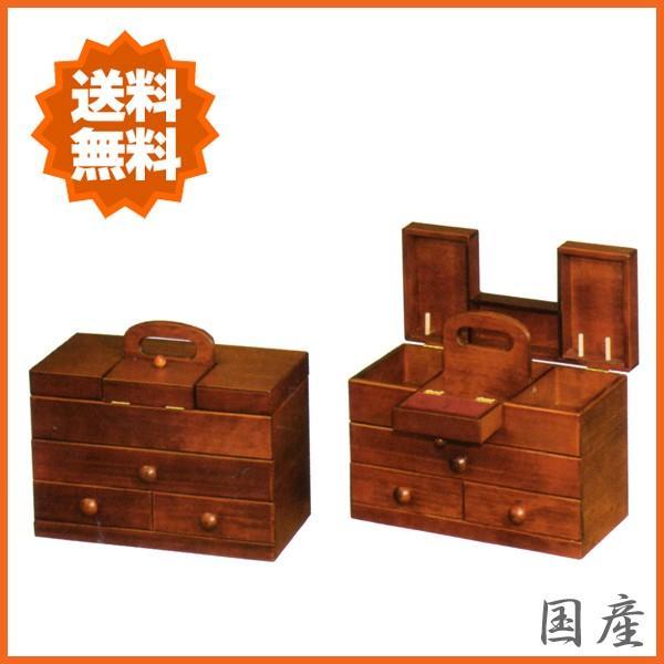 ソーイングボックス おしゃれ 裁縫箱 木製 針箱 和風 母の日 敬老の日|interior-bagus