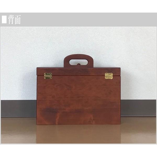 ソーイングボックス おしゃれ 裁縫箱 木製 針箱 和風 母の日 敬老の日|interior-bagus|04