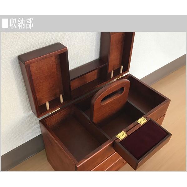 ソーイングボックス おしゃれ 裁縫箱 木製 針箱 和風 母の日 敬老の日|interior-bagus|06