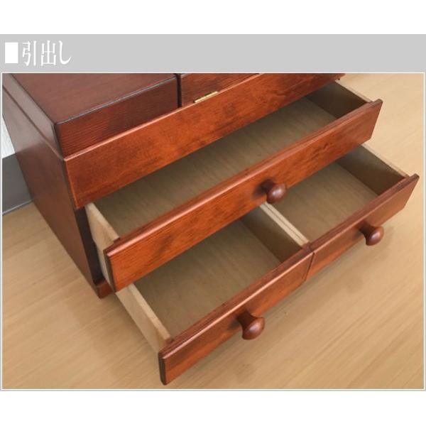 ソーイングボックス おしゃれ 裁縫箱 木製 針箱 和風 母の日 敬老の日|interior-bagus|07