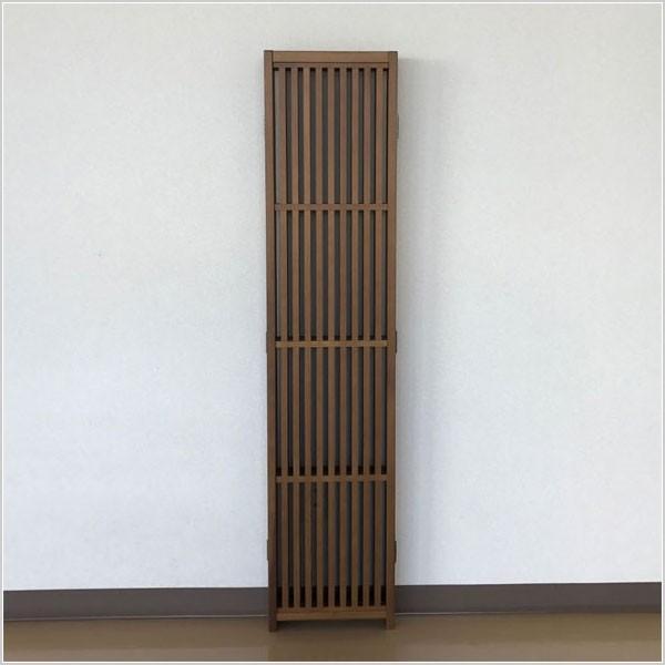パーテーション 和風 パーティション 4連 衝立 無垢 間仕切り 日本製 国産|interior-bagus|06