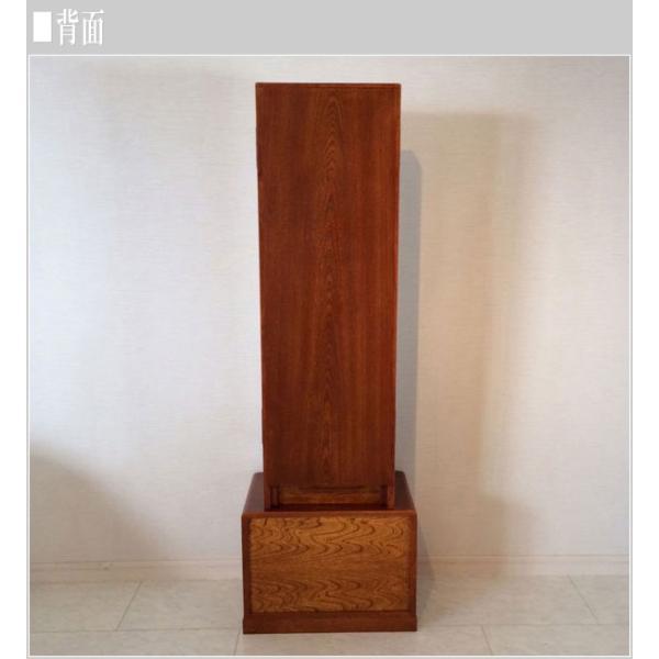座鏡 和風 鏡台 ドレッサー 三面鏡 化粧台 欅 メイク台 日本製 姿見収納 国産|interior-bagus|05
