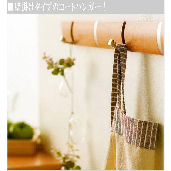 壁掛けハンガー 5連 コートハンガー ウォールハンガー 洋服掛け コート掛け|interior-bagus|02