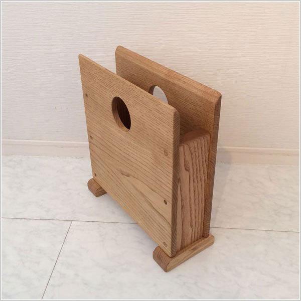 マガジンラック スリム マガジンスタンド 木製 ブックスタンド おしゃれ 本立て 手作り|interior-bagus|06