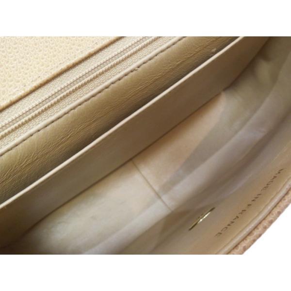 【美品】CHANEL ハンドバッグ マドモアゼル キャビアスキン ベージュ/ゴールド金具