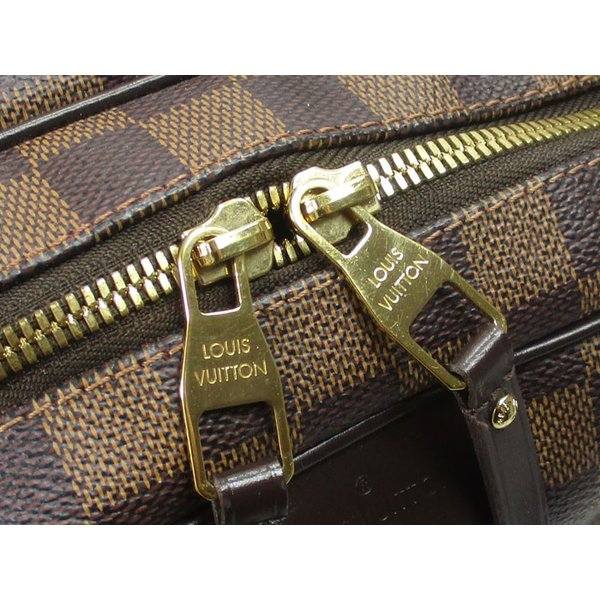 LOUIS VUITTON ショルダーバッグ リヴィントン PM ダミエ エベヌ N41157