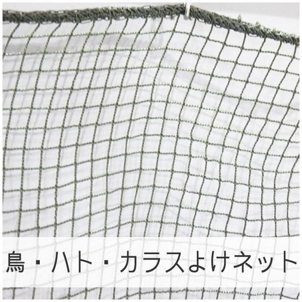 NET21ベランダ 鳥・はと・鳩・カラスよけ 防鳥ネット 巾30〜100cm 丈401〜500cm JQ