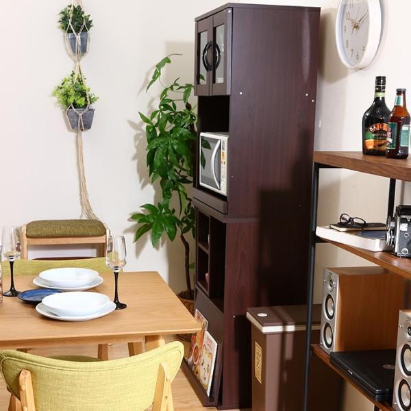 値下げ キッチンラック セット レンジ台 引き出しトレー スライド棚 キッチン収納 interior-festa 05