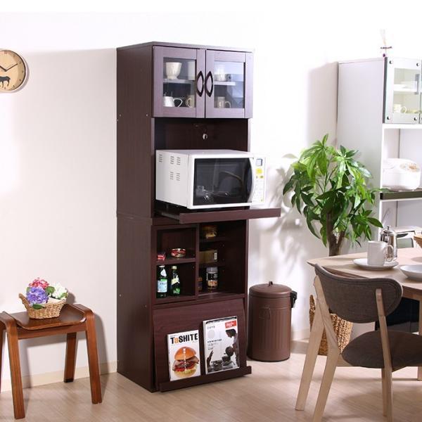 値下げ キッチンラック セット レンジ台 引き出しトレー スライド棚 キッチン収納 interior-festa 08