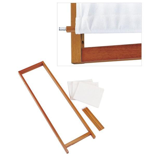 木製スクリーン(帆布)4連 / パーテーション ついたて 間仕切り 送料無料|interior-festa|02