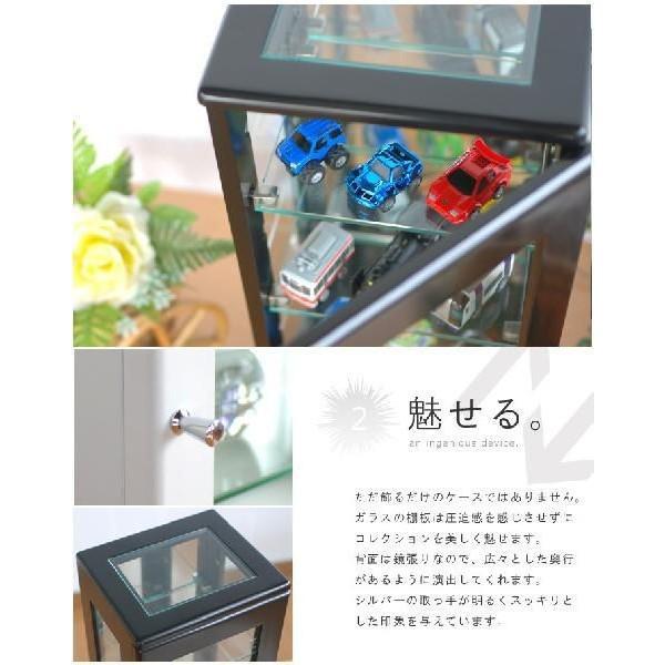 コレクションケース スリム ガラスケース ディスプレイラック 飾り棚|interior-festa|03
