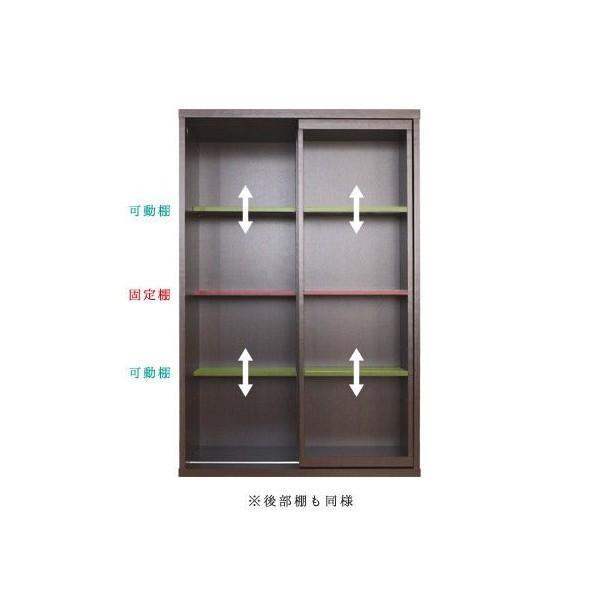 本棚 木製 スライド マルチラック CDラック スリム DVDラック 幅60 処分セール|interior-festa|04