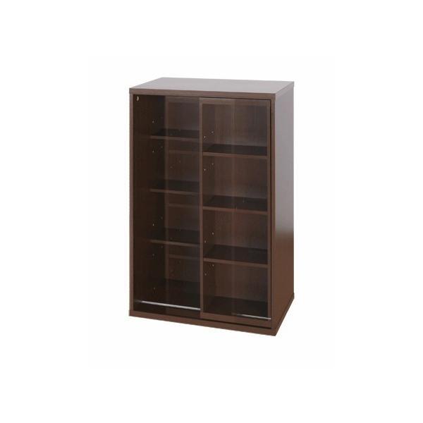 本棚 木製 スライド マルチラック CDラック スリム DVDラック 幅60 処分セール|interior-festa|06