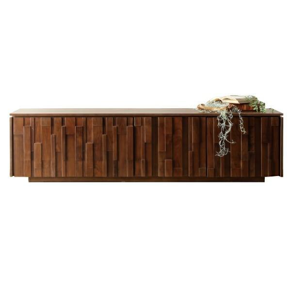 テレビ台 テレビボード TV台 TVボード 幅200cm 完成品 木製 リビング