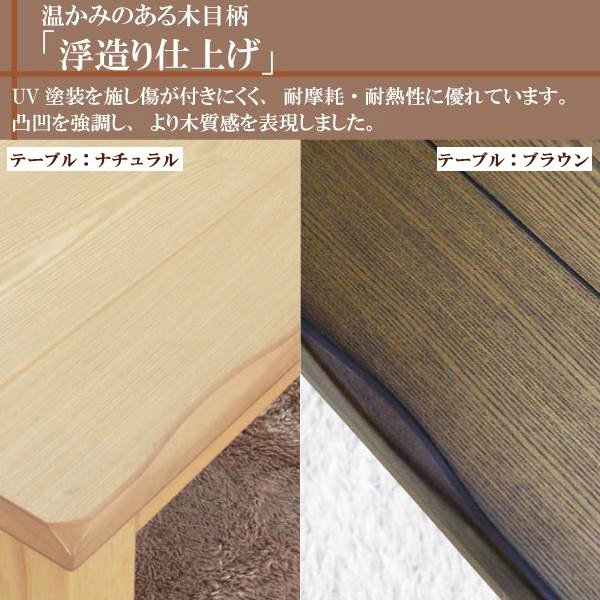 こたつ テーブル 幅150cm 長方形 和風 家具調