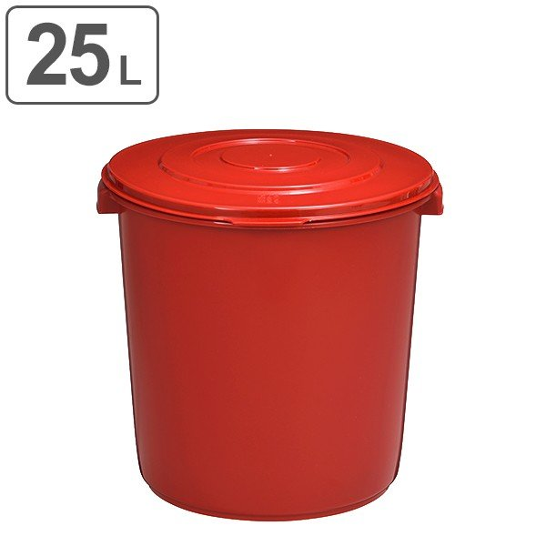 味噌樽 25L 25型 プラスチック製 ( みそ樽 ミソ樽 味噌容器 )