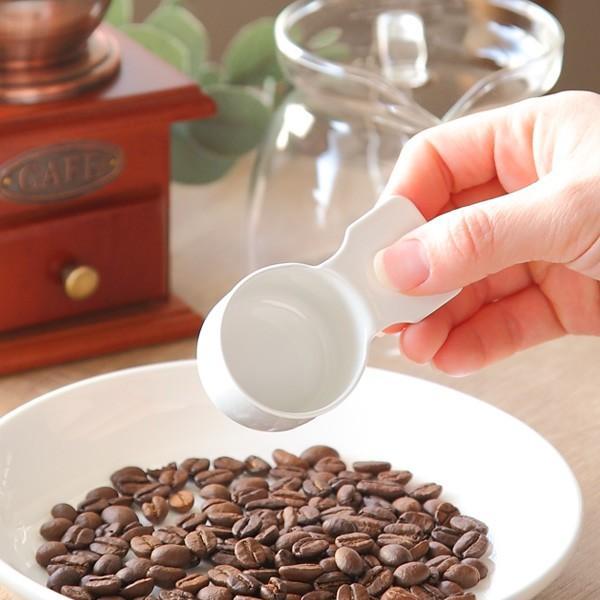 コーヒーメジャーカップ ショート ブラン blanc 計量スプーン ステンレス製 ホーロー 日本製 ( コーヒー スプーン 計量 10g コーヒーメジャー 琺瑯 )