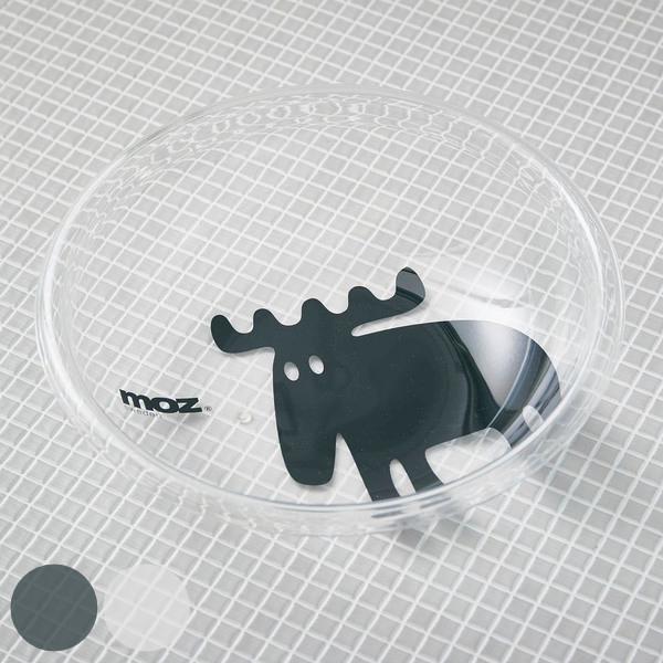 洗面器 moz アクリル製バス桶 湯桶 アクリル バスグッズ ( 風呂おけ クリア 透明 モズ )