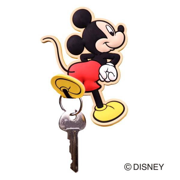 フック マグネットフック Disney ミッキーマウス ( マグネット 磁石 鍵フック 小物フック キーフック 収納 ミッキー ディズニー )