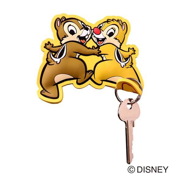 フック マグネットフック Disney チップ&デール ( マグネット 磁石 鍵フック 小物フック キーフック 収納 チップとデール ディズニー )