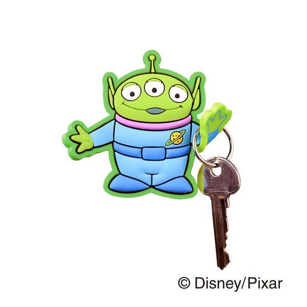 フック マグネットフック Disney エイリアン トイ・ストーリー ( マグネット 磁石 鍵フック 小物フック キーフック 収納 リトルグリーンメン ディズニー )
