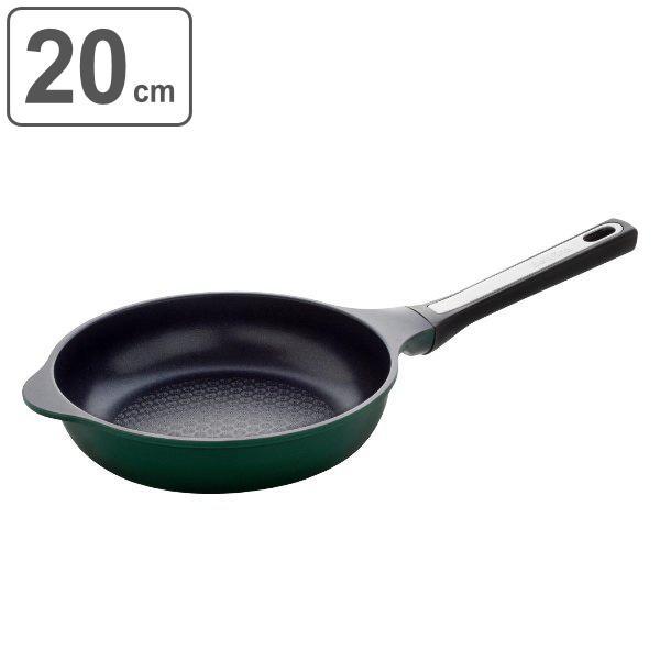 フライパン 20cm IH対応 スーパーベルフィーナプレミアム ( 片手鍋 エンボス加工 ガス火対応 アルミフライパン 軽量 )