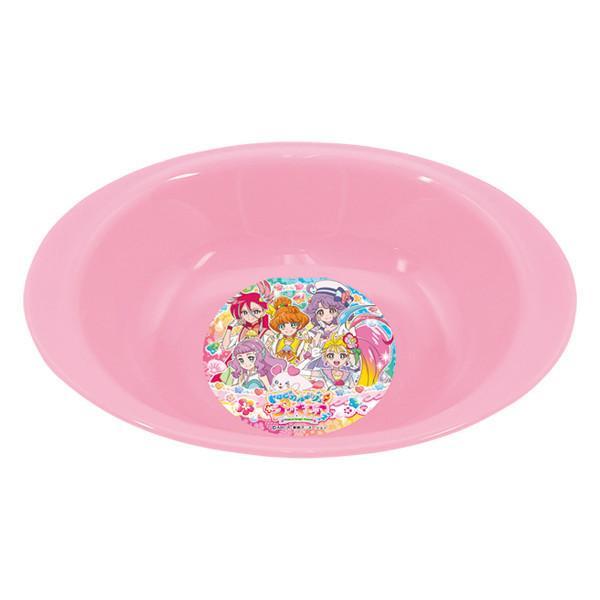カレー皿 トロピカル〜ジュ!プリキュア 子供用 食器 プラスチック キャラクター 日本製 ( プリキュア トロピカルージュ パスタ皿 ボウル )