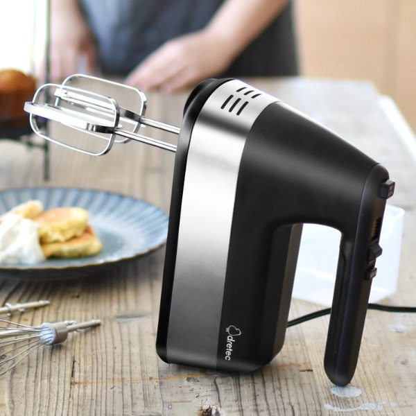 ハンドミキサー ニルド 200W 調理家電 泡立て器 ミキサー ( 電動ミキサー ブレンダー ハンドブレンダー 電動泡立て器 ホイッパー ビーター )