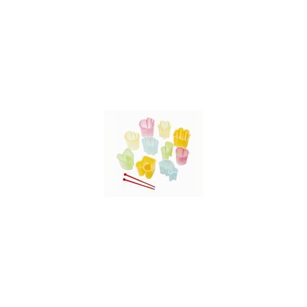 お弁当抜き型セットミニ型・10個入ピック・2本入(簡単キャラ弁お弁当グッズ子供)
