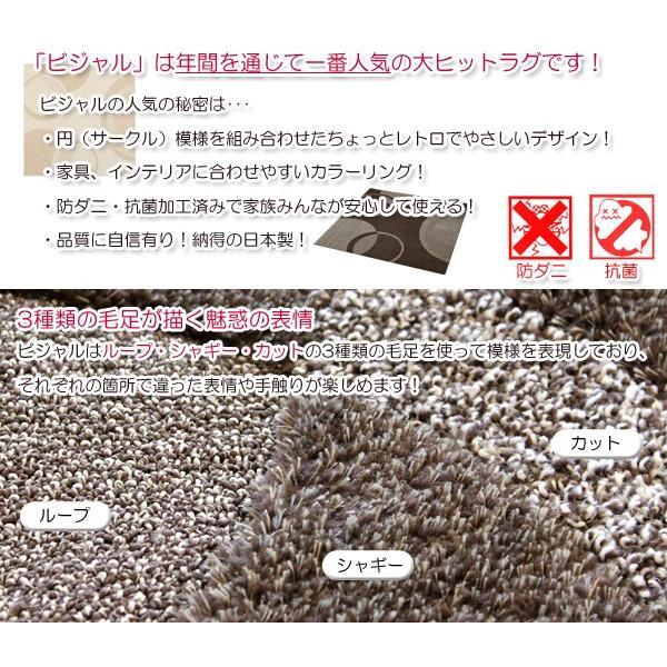 シャギーラグ ビジャル 190×190cm|interior-works|03