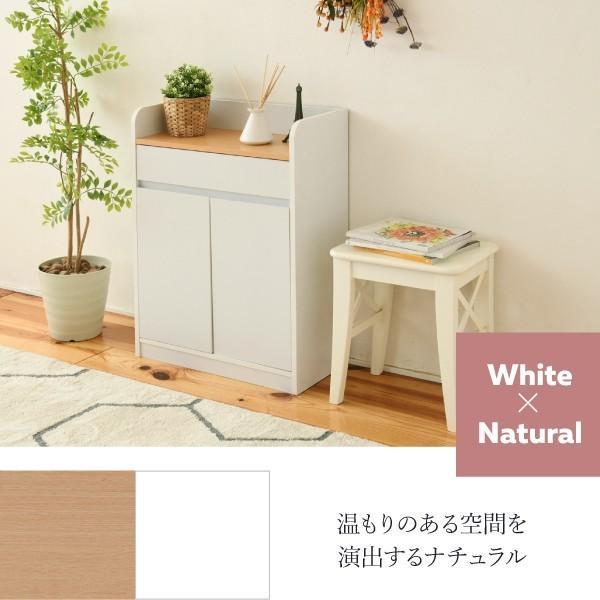 キャビネット 引き出し付き 幅60 薄型 木製|interiorcafe|10