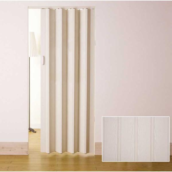 アコーディオンドア 規格品だからこそできる激安価格でアコーデイオンドア! アコーディオンドアNJ-2 規格品 (100×200cm)|interiorkataoka