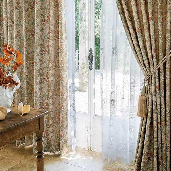 オーダーカーテン 縫製カーテン 川島セルコン 高級オーダーカーテン filo ウィローボウ FF4536〜FF4538 filo スタンダードオーダーカーテン 2倍ヒダ