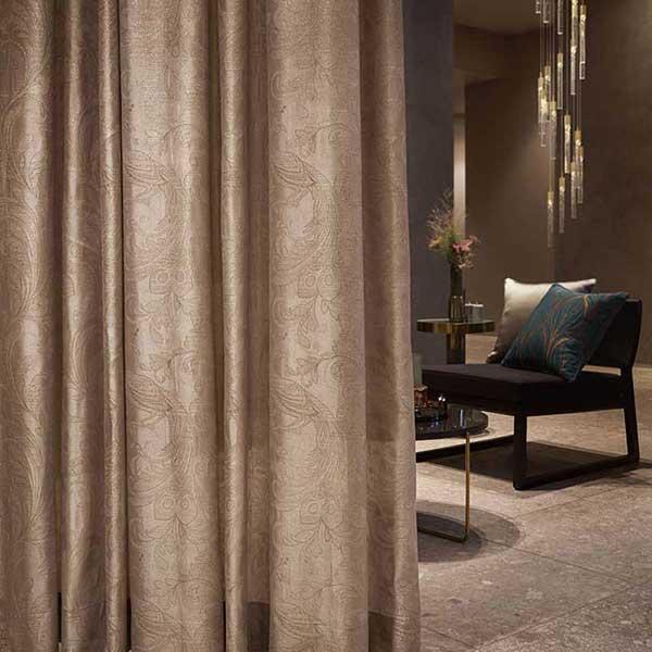 オーダーカーテン 縫製カーテン 川島セルコン 高級オーダーカーテン filo ペルシャカモン FF4572〜FF4574 filo縫製 オーダーカーテン 2.3倍ヒダ
