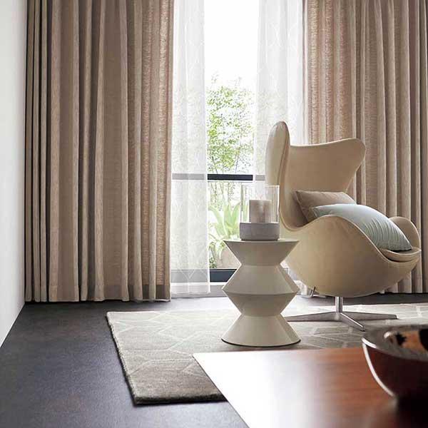 オーダーカーテン 縫製カーテン 川島セルコン 高級オーダーカーテン filo オーライオス FF4601〜FF4603 filo スタンダードオーダーカーテン 2倍ヒダ