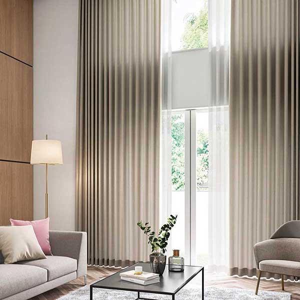 オーダーカーテン 縫製カーテン 川島セルコン 高級オーダーカーテン filo オペース FF4619〜FF4622 filo スタンダードオーダーカーテン 2倍ヒダ
