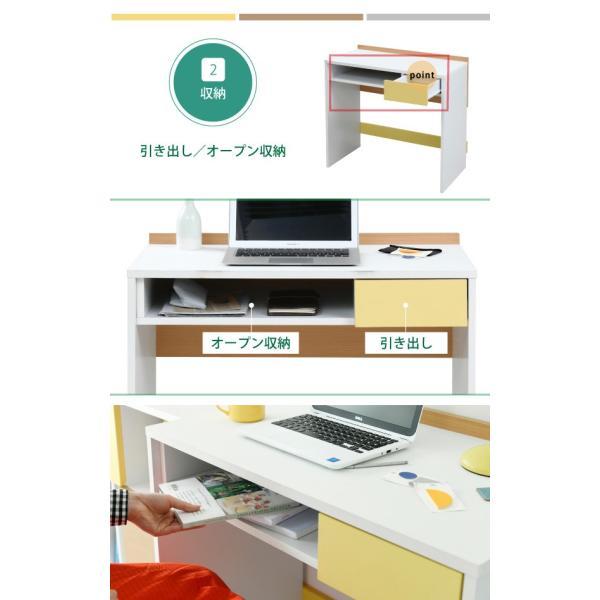 デスク PCデスク パソコンデスク ハイタイプ 幅80 奥行45 高さ73|interioronlineshop|09