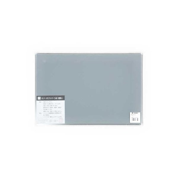 光 ユニホリデー(エラストマーゴム板) EG3-73 3×200×300mm グレー 5つ