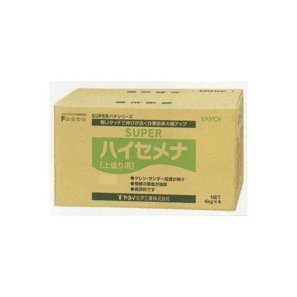 ヤヨイ化学 上塗り用パテ スーパー ハイセメナ 60分 16kg 278-221
