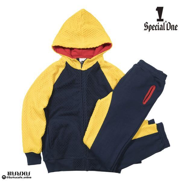 SPECIAL1 Marina x Sweat ZIP PARKA Snow Beach MIX スペシャルワン スウェットパーカー|inthestreet-jp|05