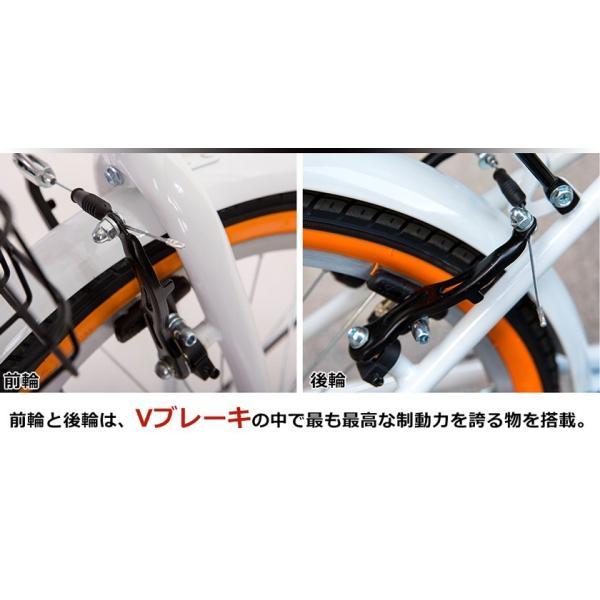 折りたたみ自転車 20インチ 軽量 カゴ付き 荷台付き 一年安心保障 シマノ6段変速 鍵 ライト付 送料無料|iofficejp|11