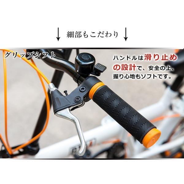折りたたみ自転車 20インチ 軽量 カゴ付き 荷台付き 一年安心保障 シマノ6段変速 鍵 ライト付 送料無料|iofficejp|07