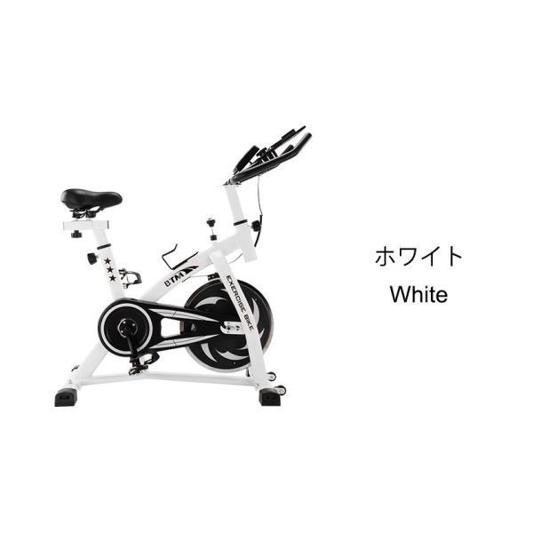スピンバイク フィットネスバイク フライホイール 10kg 静音 家庭用 室内用 1年安心保証 本格トレーニング ルームランナー エアロバイク|iofficejp|03