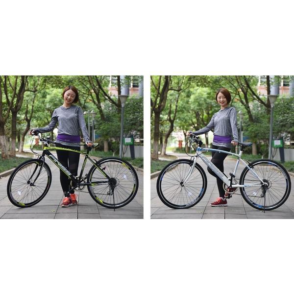 クロスバイク SHIMANO 自転車 26インチ シマノ製6段ギア カギ付き 変速 メンズ レディース おしゃれ 通勤 通学 街乗り 送料無料|iofficejp|18